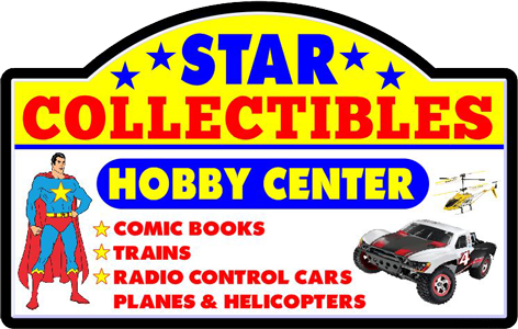 Star Collectibles Hobby CenterStar Collectibles Hobby Center logo